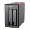2-Bay QNAP TS-251+-2G Intel Celeron 2.0GHz Quad Core (up to 2.42GHz) Adapter